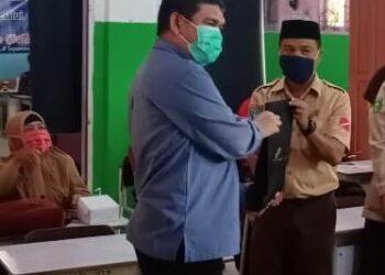 Penutupan kegiatan Pelatihan PJJ PT Medco E&P Indonesia (Medco E&P) Aset Tarakan, Sabtu (24/10/2020). (foto: dok Medco E&P)