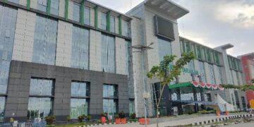 Setelah sempat melakukan lockdown parsial kurang lebih seminggu, manajemen RSUD Tarakan membuka lagi pelayanan di rumah sakit milik Pemprov Kaltara itu. (foto: jendelakaltara.co).