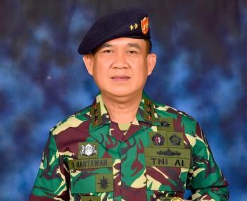 Pangkoarmada II Laksamana Muda TNI I.N.G (Sudihartawan S.Pi, M.M. (foto: istimewa)