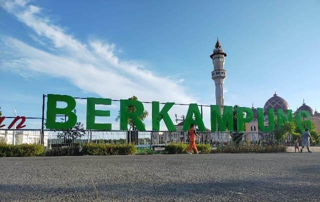 Taman Berkampung di Kelurahan Kampung Empat, Kecamatan Tarakan Timur, kembali dibuka untuk kunjungan masyarakat. (foto: jendelakaltara.co)