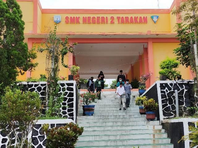 SMKN 2 Tarakan, salah satu sekolah di bawah pengelolaan Disdikbud Kaltara. (foto: jendelakaltara.co)