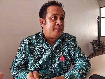 Pengurus PMI Tarakan Agustan Yusuf. (foto: jendelakaltara.co)