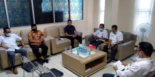 Wakil Ketua DPRD Kaltara melakukan monitoring. (foto: Istimewa)