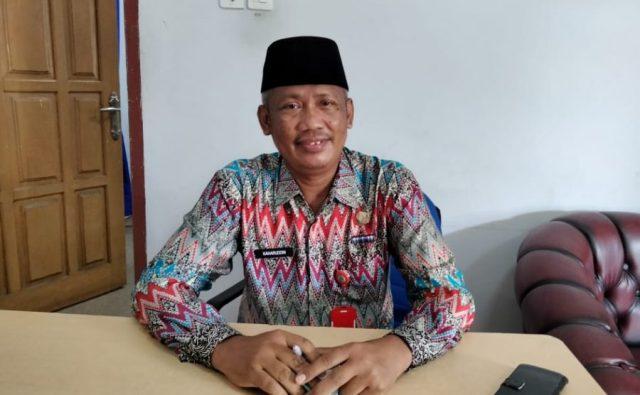 Kepala BKPSDM Kabupaten Nunukan, Kaharuddin Tokkong. (foto: Warta Humas)