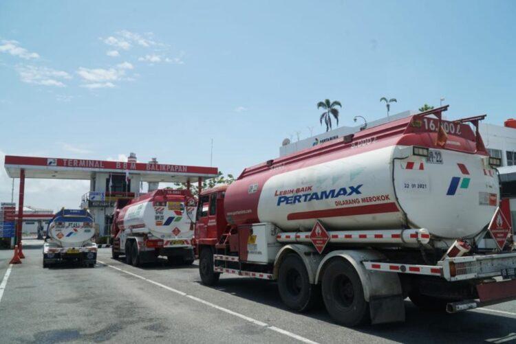 Selama Nataru, Pertamina mencatat adanya peningkatan konsumsi pada Pertamax dan Pertamax Turbo. (foto: Pertamina Marketing Operation Region (MOR) VI Kalimantan)