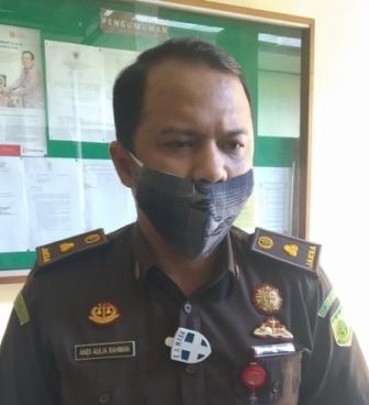 Kasi Pidana Umum Kejari Tarakan Andi Aulia Rahman. (foto: Istimewa)