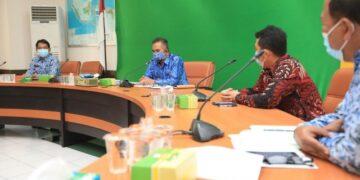 Pemkot Tarakan melakukan pertemuan dengan pihak PGN Area Tarakan, Rabu (17/2/2021). (foto: Humas Setda Tarakan)