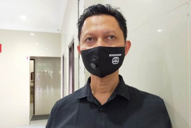 Direktur Perumda Tarakan Aneka Usaha Mappa Panglima Banding. (foto: jendelakaltara.co)