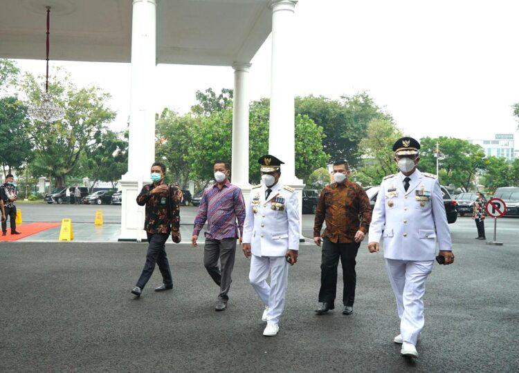 Gubernur dan Wakil Gubernur Kaltara Drs. H. Zainal Arifin Paliwang SH, M.Hum dan Dr. Yansen Tipa Padan M.Si siap dilantik. (foto: Tim Relasi ZIYAP)