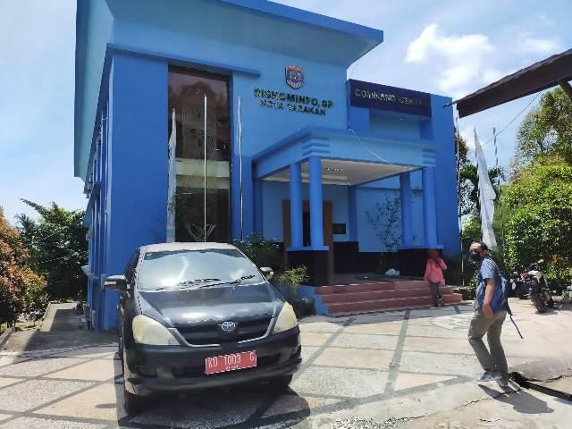 Command Center menggunakan eks Kantor Dinas Komunikasi, Informatika, Statistik dan Persandian Tarakan. (foto: jendelakaltara.co)