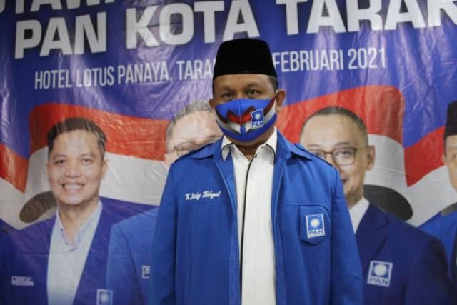Ketua DPD PAN Tarakan terpilih Khaeruddin Arief Hidayat. (foto: Istimewa)