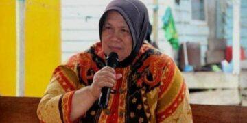 Hj. Asmah Gani semasa hidup. (foto: Istimewa)