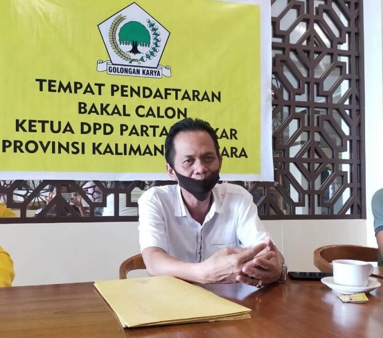 Sekretaris DPD Tingkat I Partai Golkar Kaltara Suharno. (foto: jendelakaltara.co)