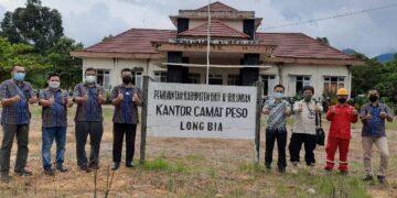 Listik di Kecamatan Peso, Kabupaten Nunukan sudah beroperasi 24 jam. (foto: PT.PLN)