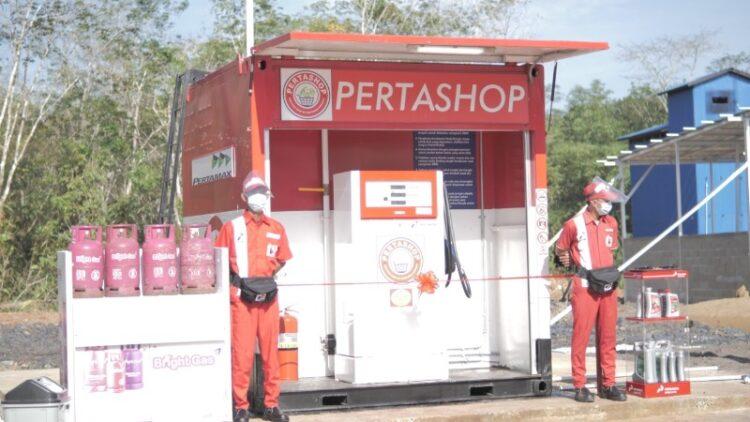 Pertashop merupakan penyalur resmi BBM dan LPG dari Pertamina. (foto: Pertamina MOR IV Kalimantan)