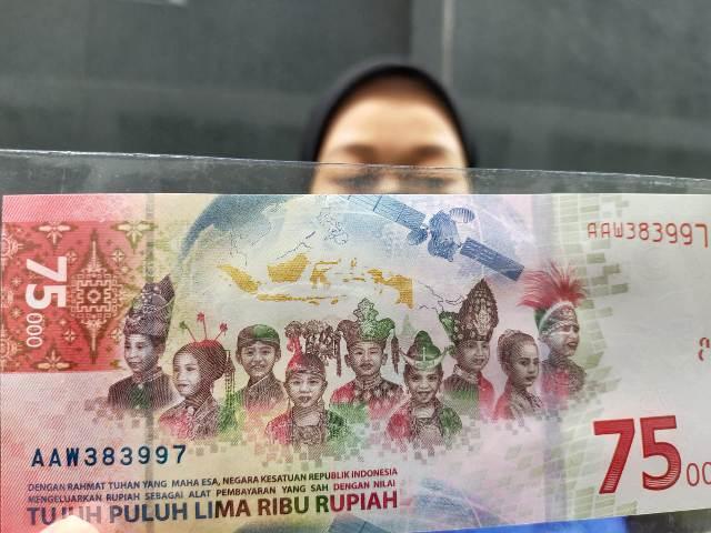 Masyarakat sudah bisa memiliki UPK RI 75 Tahun Rp 75.000 dengan jumlah lebih banyak. (foto: jendelakaltara.co)
