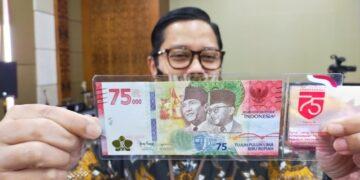 Uang rupiah edisi khusus Hari Kemerdekaan ke 75 RI yang diterbitkan pada 17 Agustus 2020 lalu. BI akan kembangkan rupiah digital. (foto: Istimewa)