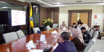 Pertemuan antara manajemen RSUD Tarakan dengan Komisi I DPRD Kabupaten Berau, Senin (22/3/2021). (foto: Istimewa)
