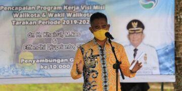 Wali Kota Tarakan dr. H. Khairul M.Kes. (foto: Bagian Protokol dan Komunikasi Pimpinan Setda Tarakan)