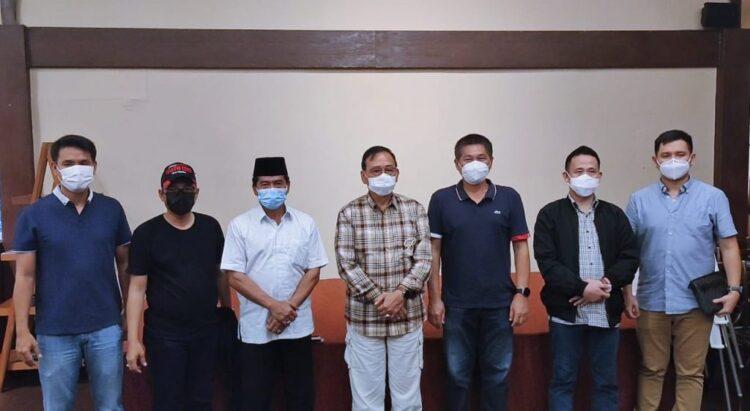 Gubernur Kaltara Zainal A. Paliwang bersama anggota DPR RI Deddy Yevri Hanteru Sitorus dan anggota DPD RI Marthin Billa. (foto: Diskominfo Kaltara)