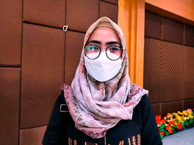 Dokter Spesialis Penyakit Dalam RSUD Tarakan dr. Ni Putu Merlynda Pusvita Sp.PD. (foto: jendelakaltara.co)