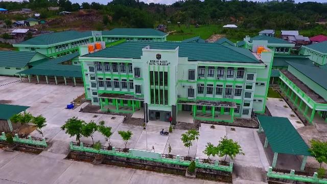 Gedung RSUKT di Jalan Hake Babu, Tarakan. (foto: Diambil Dari Akun FB Hubmas RSUKT)