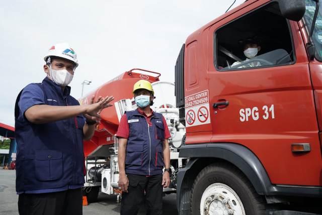 Pertamina siap memenuhi kebutuhan masyarakat akan BBM dan LPG di momentum lebaran. (foto: Pertamina MOR VI)