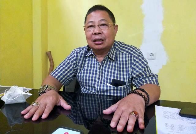 Ketua DPD Tingkat II Partai Golkar Tarakan Tigor Nainggolan. (foto: jendelakaltara.co)
