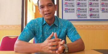 Iwan Setiawan saat ditemui awak media Kamis (17/6/2021). (foto: jendelakaltara.co)