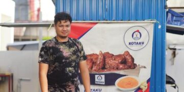 Abimanyu Prakarsa merupakan pengusaha UMKM yang tumbuh bersama Grab. (foto: Humas Grab)