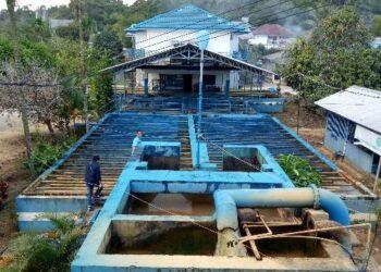 Tempat pengolahan air Perumda Tirta Alam Tarakan di Kampung Bugis, Kelurahan Karang Anyar, Tarakan Barat. (foto: jendelakaltara.co)